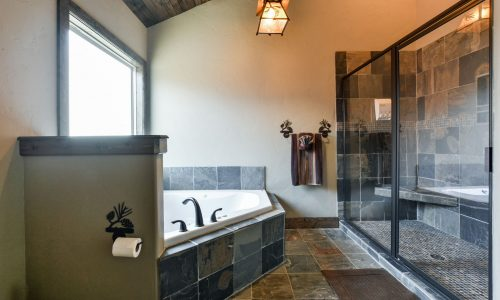 6BL-master bath tub and shower