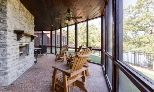 7BL-view from patio with fireplace